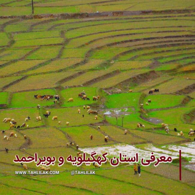 کهگیلویه و بویراحمد/ معرفی استان کهگیلویه و بویراحمد