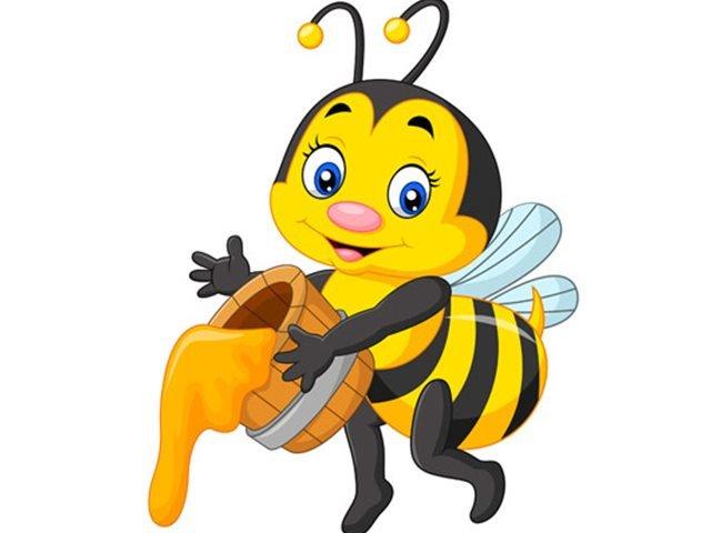 شعر کودکانه زنبور زرد و قرمز
