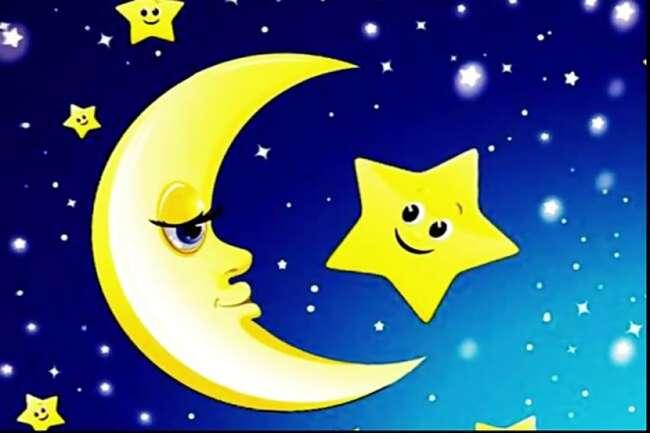 شعر کودکانه شب و ستاره