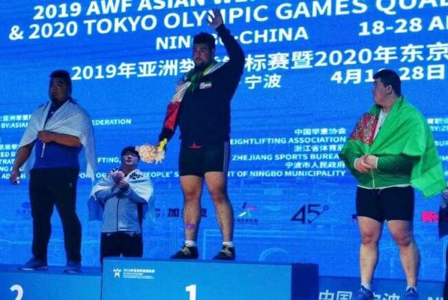 علی داودی قهرمان فوق سنگین آسیا شد