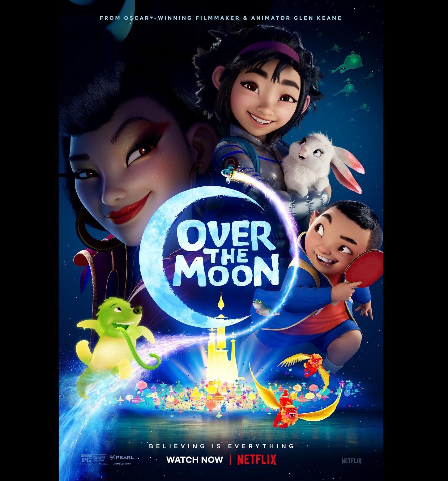 معرفی انیمیشن برفراز ماه Over the Moon 2020