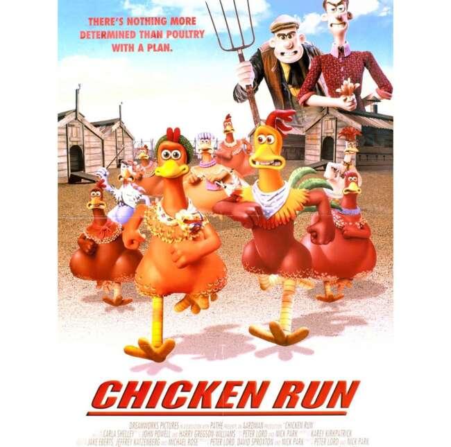 معرفی انیمیشن فرار مرغی ( Chicken Run )