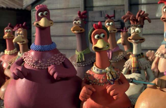 انیمیشن فرار مرغی Chicken Run 1
