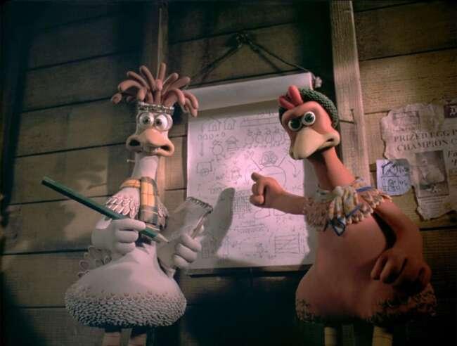 انیمیشن فرار مرغی Chicken Run 6