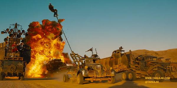 بررسی و آنالیز رنگ فیلم مکس دیوانه جاده خشم (Mad Max: Fury Road)