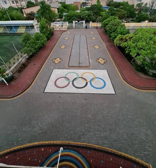 نوسازی محوطه ورزشگاه تختی تبریز
