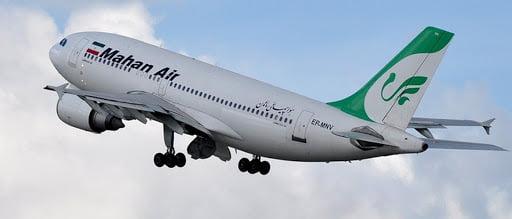 همه پروازهای ماهان به هند لغو شد
