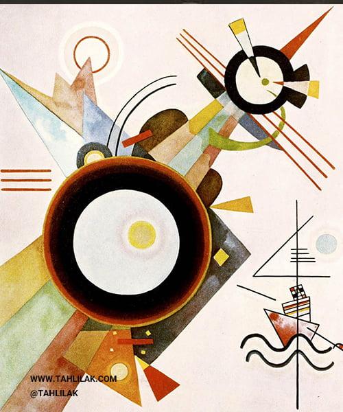 هنرمند برجسته نقاشی آبستره