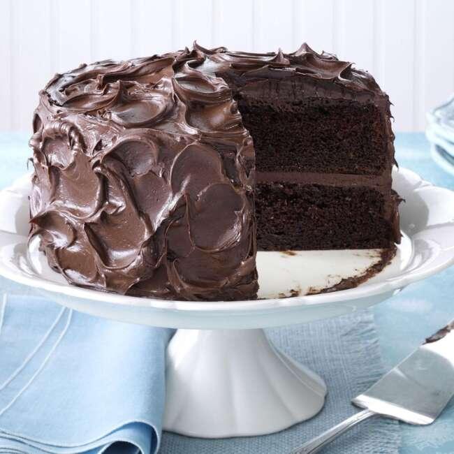 طرز تهیه کیک کاکائویی