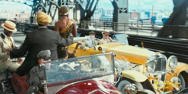 رنگ طلایی در فیلم گتسبی بزرگ