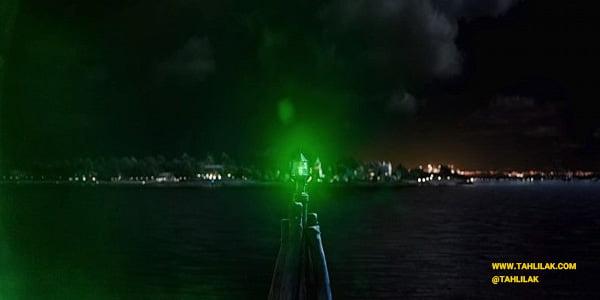 رنگ سبز در فیلم گتسبی بزرگ