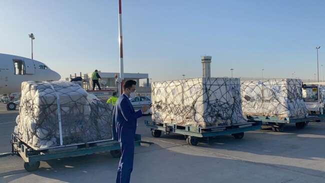۴۰۰ هزار دز واکسن کرونا از چین وارد کشور شد