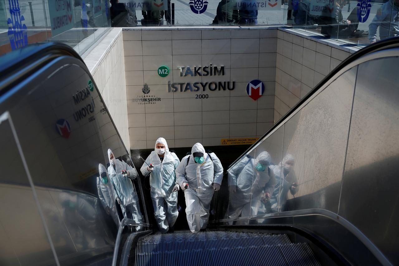 سیر کووید-۱۹ در ترکیه، ركورد ابتلا روزانه به كوويد 19
