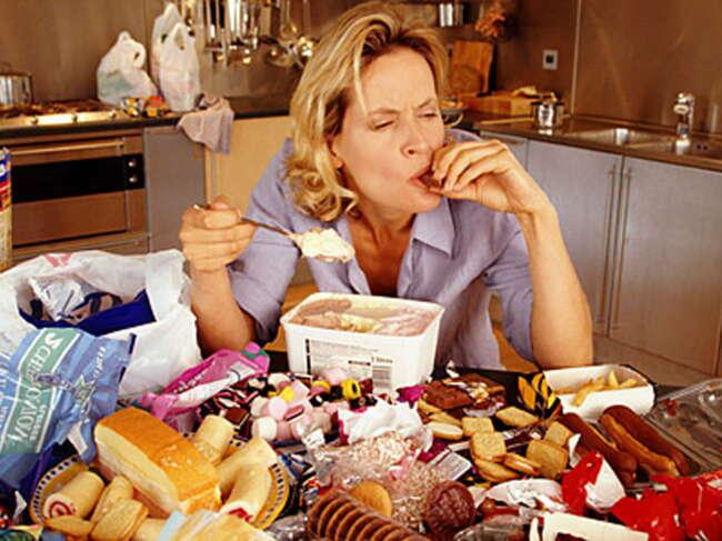 اعتیاد به غذا خوردن