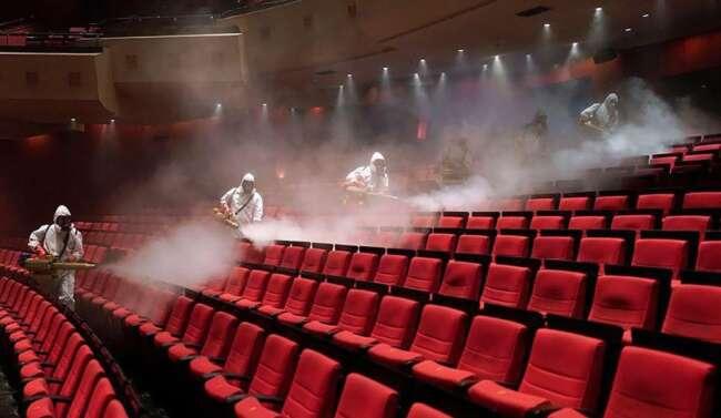بازگشایی سالن های سینما
