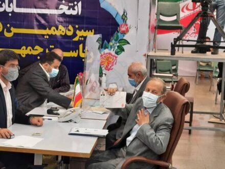 ثبت نام سردار افشار برای انتخابات ریاست جمهوری