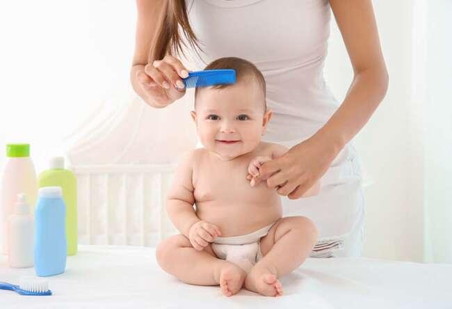 ریزش موی نوزاد