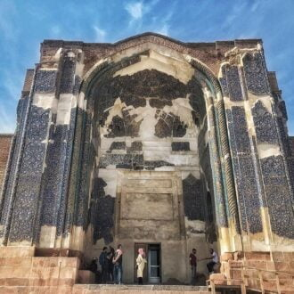 مسجد کبود تبریز | مسجد جهانشاه تبریز