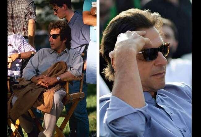 شباهت نخست وزیر پاکستان با آل پاچینو