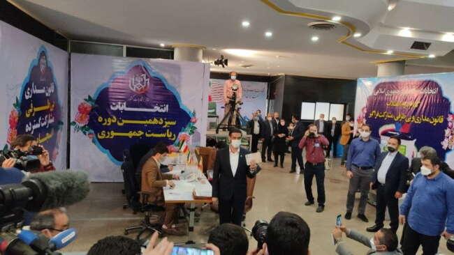 صحبت های سعید محمد پس از ثبت نام در انتخابات ریاست جمهوری