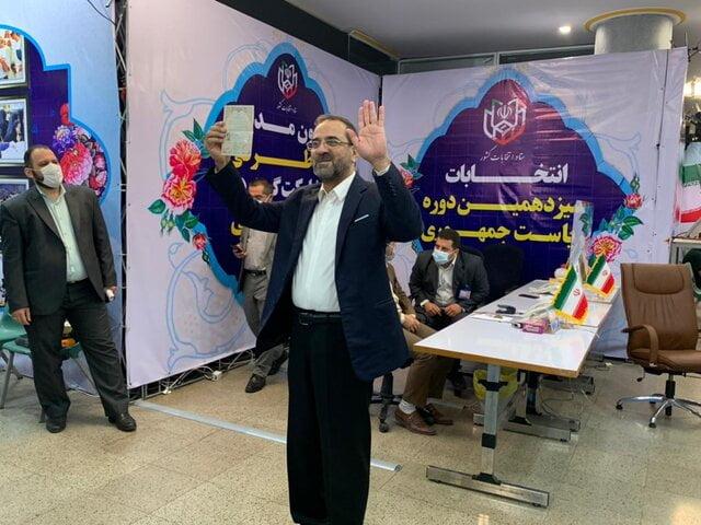 صحبت های محمد عباسی بعد از ثبت نام در انتخابات