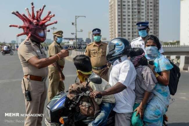قربانیان کرونا در هند از ۲۰ میلیون نفر گذشت