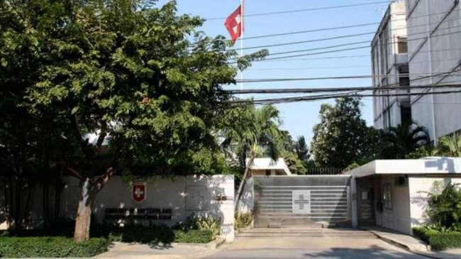 مرگ کارمند سفارت سوئیس در تهران