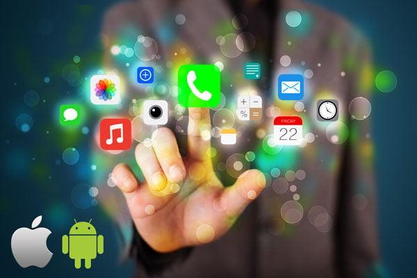مقایسه-تعداد-برنامه-های-ios-و-android