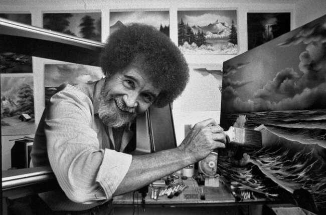نقاشی های باب راس