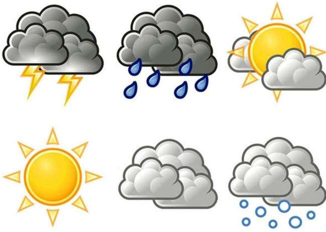 پیش بینی آب و هوا 16 اردیبهشت