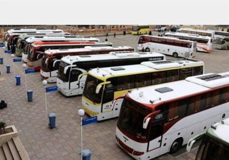 افزایش قیمت بلیت اتوبوس های بین شهری