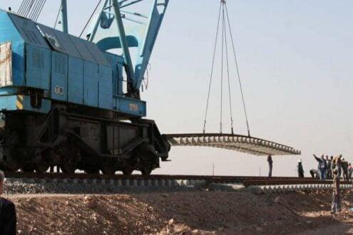 ساخت دستگاه ریل گذار