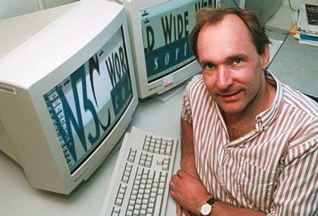 تیم برنز لی پدید آورنده وب
