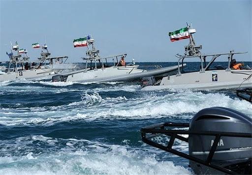 نیرو های امریکایی در خلیج فارس