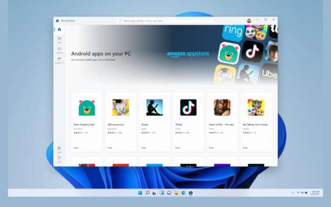 اجرای اپلیکشین های اندروید در ویندوز 11