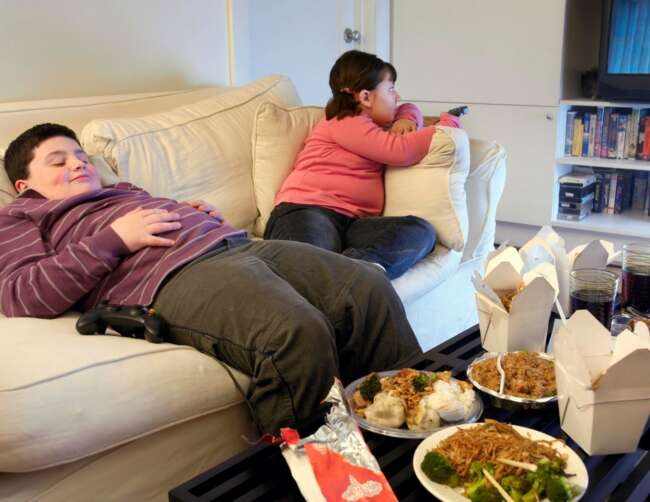 اینترنت و چاقی