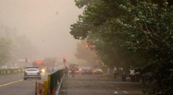 وضعیت هواشناسی تهران