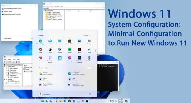 حداقل سیستم مورد نیاز برای ویندوز 11.jpg مایکروسافت
