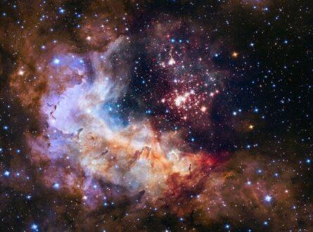 شکار خوشه ستاره ای توسط هابل