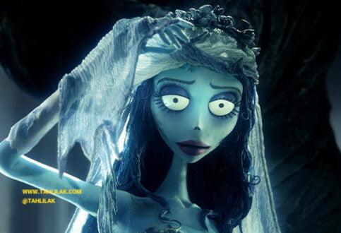 تحلیل رنگ انیمیشن عروس مرده (Corpse Bride)