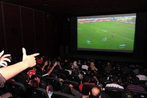 فرش قرمز سینما برای فوتبالی ها