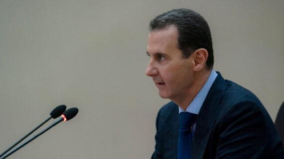 پیام بشار اسد به انصارالله یمن