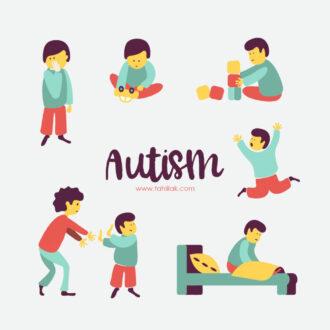 ویژگی کودکان اوتیسم