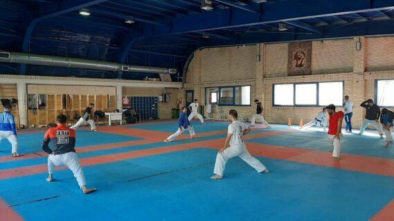 اردوی تیم ملی کاراته