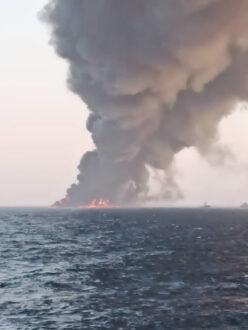 جزئیات جدید از آتش سوزی ناو خارک