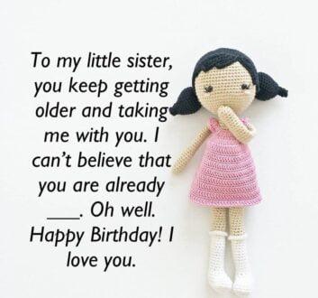 تولدت مبارک خواهرم - آبجی گلم تولدت مبارک
