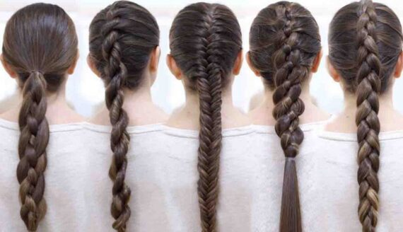 Girly hair texture