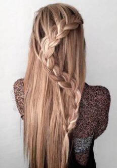 16 مدل بافت مو دخترانه زیبا