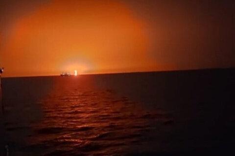 فوران آتشفشان در دریای خزر