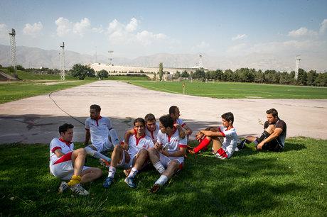 اردوی تیم ملی فوتبال هفت نفره لغو شد